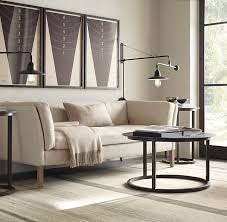 restoration hardware sofa table sorensen upholstered sofa