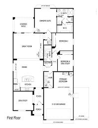 pulte home emerald model 1776 sq ft floor plans regular