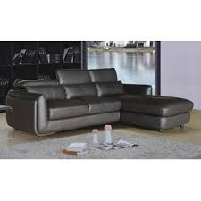 Brown Leather Sectional Sofa Leather Sectional Sofas You U0027ll Love Wayfair