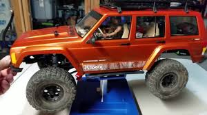 jeep nukizer kit axial scx10 2 scale interior lights and driver daryl from the