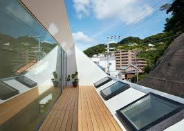 Skylight Design by Skylights And Clerestory Windows Bathe The Japanese Re Slope House