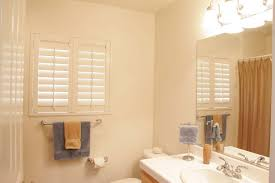 Ceiling Ideas For Bathroom Creative Plantation Shutters For Bathroom Window Designs And