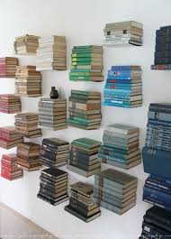 Invisible Bookshelf Diy 30 Creative And Stylish Wall Decorating Ideas Book Shelves