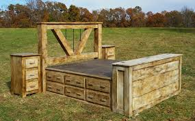 Rustic Wood Bedroom Sets - interesting fine rustic bedroom sets von furniture minimized white