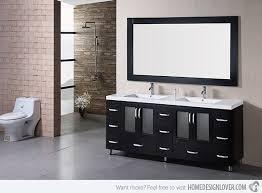 staggering modern double sink bathroom vanities top 23 designs of