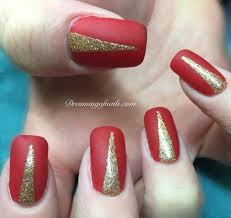 6 fun red nail designs for december dreaming of nails