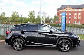 lexus assist uk lexus rx450h 3 5 f sport 5dr premier pack export car from uk ltd