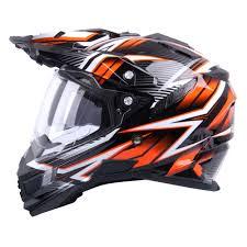 helmet motocross motocross helmet w tec ap 885 tx 27 black orange insportline