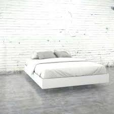bed frames for mattress and box spring queen size platform bed