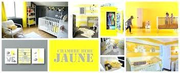 deco chambre jaune deco chambre jaune deco chambre jaune et gris idaces dacco pour