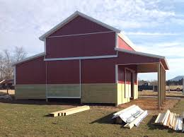 Monitor Style Barn by 20x40x16 Agricultural Barn In Luray Va Ajw14046 Superior