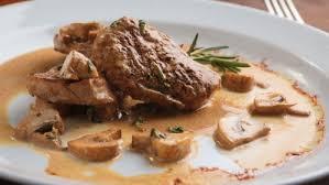 cuisiner escalope de veau escalopes de veau au brie et chignons