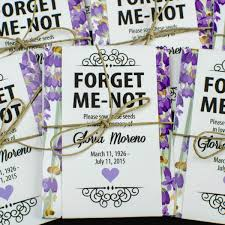 forget me not seed packets lavender memorial forget me not seed packets gloria s garden