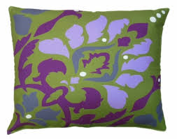 purple damask outdoor pillow only 44 95 at garden