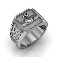 mens claddagh ring stylish men s claddagh rings for an wedding