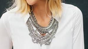 wear statement necklace images How to wear statement necklaces jewelry tips jpg