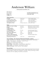 Best Resume Google by How To Format An Acting Resume Resume Examples 2017