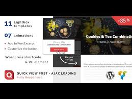 wordpress quick tutorial quick view lightbox post wordpress plugin tutorial video youtube