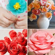 paper flower 20 diy paper flower tutorials how to make paper flowers