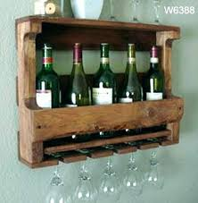 wall mounted pub table wine racks wooden hanging wine rack riveting counter height pub