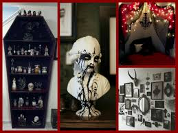 gothic halloween decor ideas goth room decor inspiration youtube