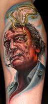 dalí tattoo by stefano alcantara tattoos