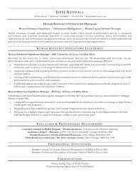 hr resume exles human resources resume exle