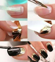 tutorial nail art foil 151 best transfer foil nail art nails by nded images on pinterest