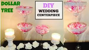 dollar tree diy pink glam wedding centerpiece easy youtube