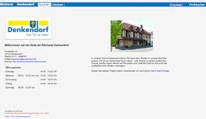 Opac Baden Baden Online Katalog Denkendorf