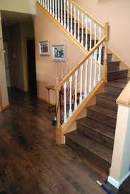 vivash wood floors rustic jacobean stained maple random width