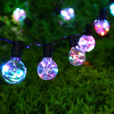 Vintage Globe String Lights by Novelty G40 Vintage Backyard Wedding Decoration String Lights With