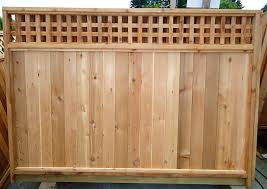 unique model cedar fence panels allstateloghomes com