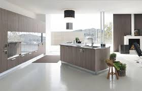 awesome kitchen in minimalist design with modern wooden cabinetry