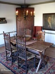 primitive dining room furniture primitive table chairs primative decor pinterest primitive