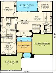 Floor Plans With Courtyard Timeless Tuscan With Courtyard 89823ah Architectural Designs