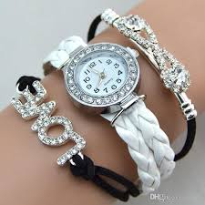 bracelet watches womens images Infinity bracelet watch fashion bracelet watches diamonds love jpg