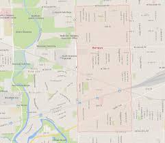 Rockford Illinois Map by Berwyn Illinois Map