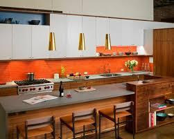 Orange Kitchens Ideas Top 100 Contemporary Kitchen With Orange Backsplash Ideas