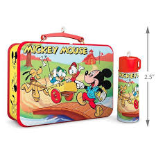 disney mickey and friends mickey mouse lunchbox and thermos
