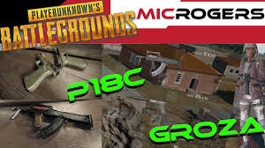 pubg early access groza and p18c gameplay pubg early access month 3 update