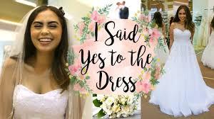 Dream Wedding Dresses I Said Yes To The Dress Dream Wedding Dress Shopping Vlog