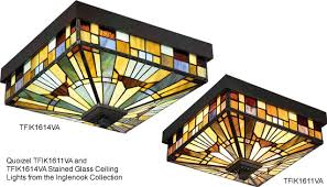 stained glass ceiling light fixtures tiffany and stained glass ceiling lights brand lighting discount