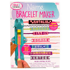 Personalized Name Bracelets Buy The Mine 2 Design Name Bracelet Maker At Michaels