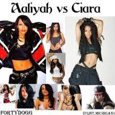 aaliyah ciara aaliyah vs ciara hosted by fortydogg mixtape