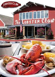 the lobster claw restaurant is a cheerful unpretentious and