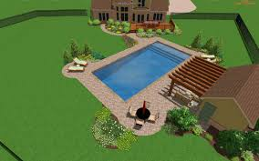 Backyard Pool Landscaping by Download Simple Pool Landscaping Ideas Iss Landscaping