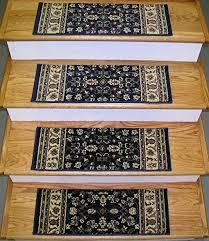 amazon com 148712 rug depot premium carpet stair runner treads