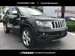 suv jeep 2013 2013 used jeep grand cherokee 4wd 4dr overland at porsche west