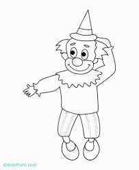 the smiling joker online coloring sheet free for kids fun